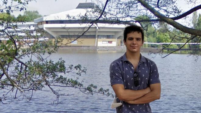 Pie de foto: Álvaro Martínez, estudia un máster en Energía de Fusión en la Universidad de York (Reino Unido).