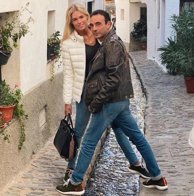Ana Soria y Enrique Ponce