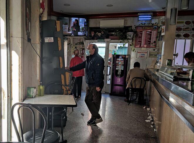Bar de la avenida Peña Prieta