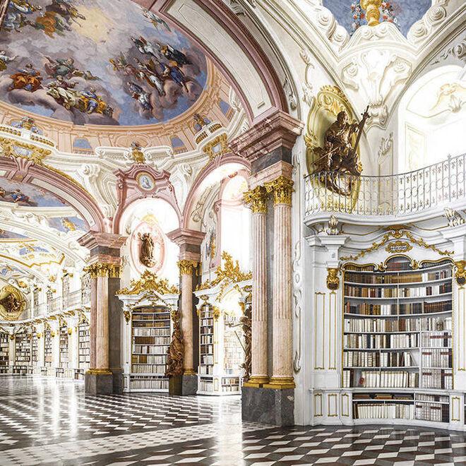 Biblioteca de La Abadía (Admont, Austria).