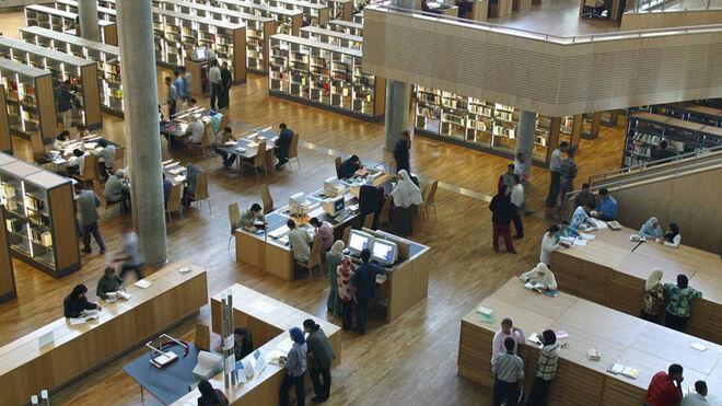 Biblioteca de Alejandría (Egipto).