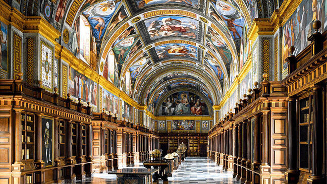 Biblioteca de El Escorial (España).