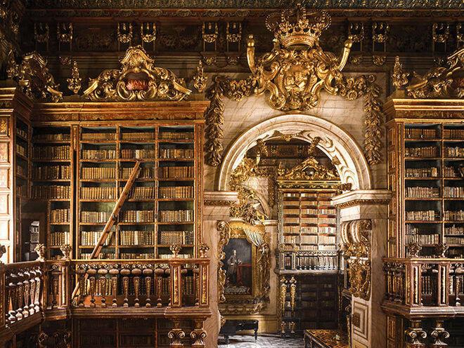 Biblioteca Joanina (Coimbra, Portugal).