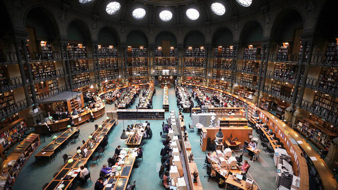 Biblioteca Nacional de Francia (París).