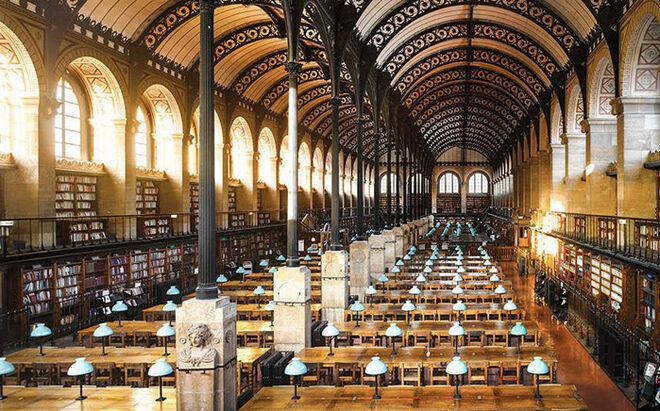 Biblioteca de Santa Genoveva (París, Francia).
