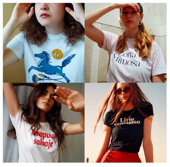 Camisetas de Zorra Mimosa