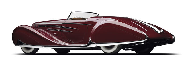 Delahaye Tipo 165 (1939).