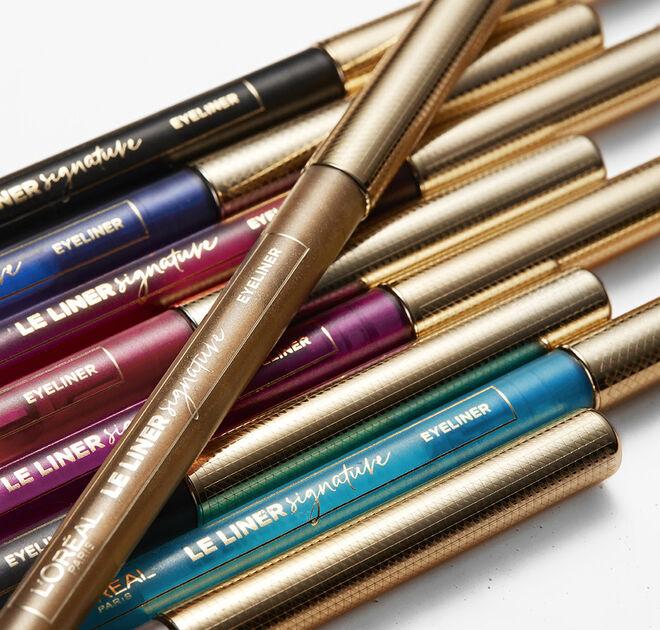 Eyeliner Le Liner Signature en colores vibrantes. PVP: 8.95€