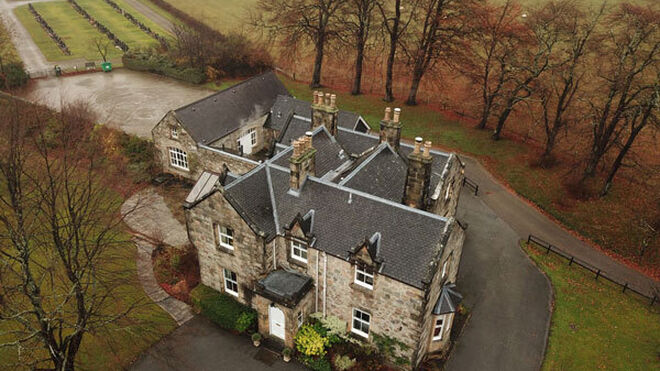 The Glenrothes Highland Estate and Distillery, en Speyside (Rothes, Escocia, Reino Unido).