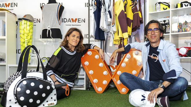 Lara Herranz y Carlos Martínez Barcia, fundadores de Idawen