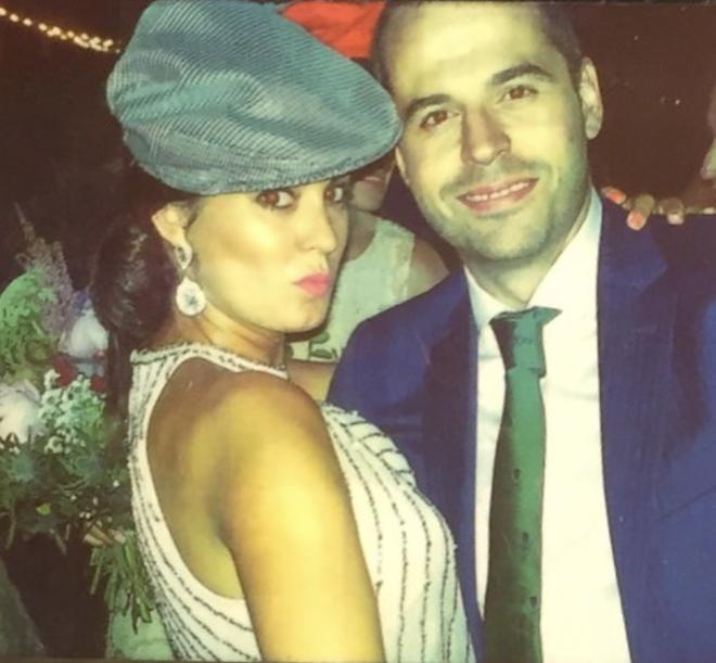 Ignacio Aguado y Paula Lucas