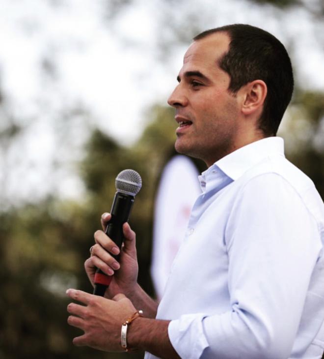 Ignacio Aguado en 2017
