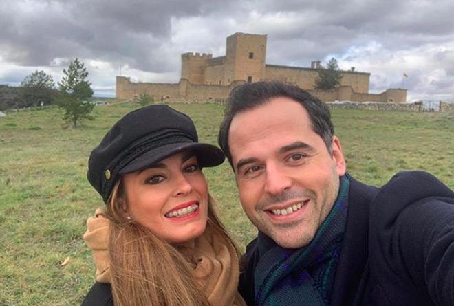 Ignacio Aguado y su mujer, Paula Lucas
