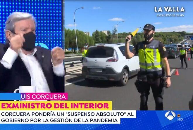 Jose Luís Corucera pega un brinco por el desfibrilador