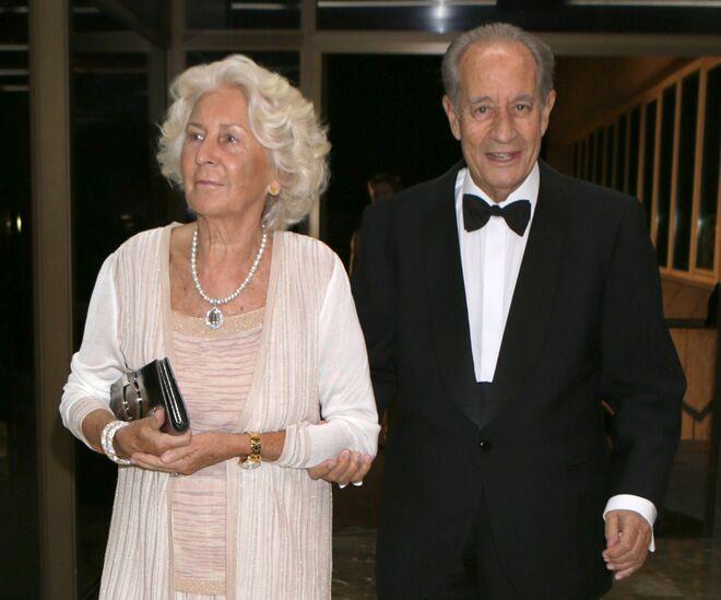 Juan Miguel Villar Mir y su mujer Silvia de Fuentes Bescós.
