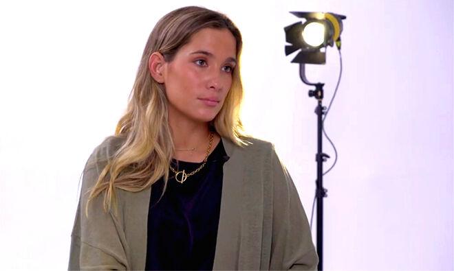 María Pombo en la entrevista