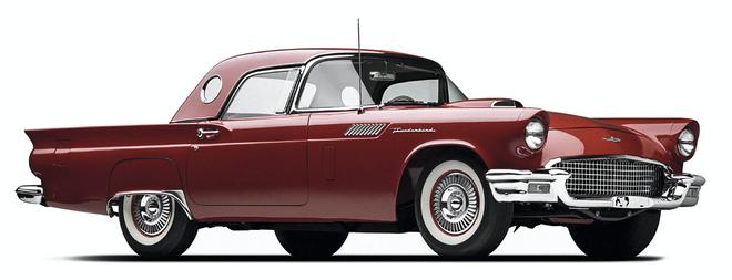Modelo Ford Thunderbird (1948).