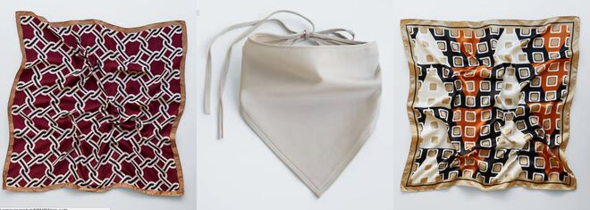 Pañuelos de Zara