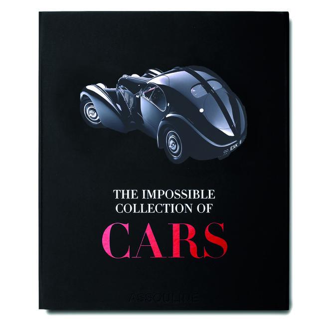 Portada de 'The Impossible Collection of Cars' (Assouline), con 170 páginas y alrededor de 170 ilustraciones del mundo del motor.