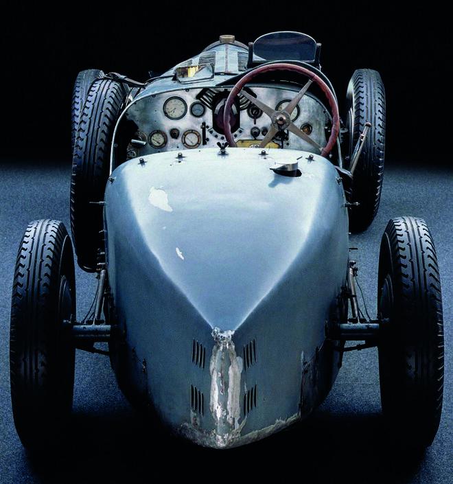 Prototipo del Silver Arrow (1937).