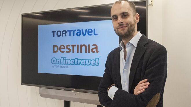 Ricardo Fernández, director general de Destinia.