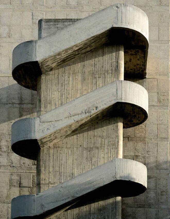 Unidad habitacional de Marsella (Francia),1952. Le Corbusier Viviendas.