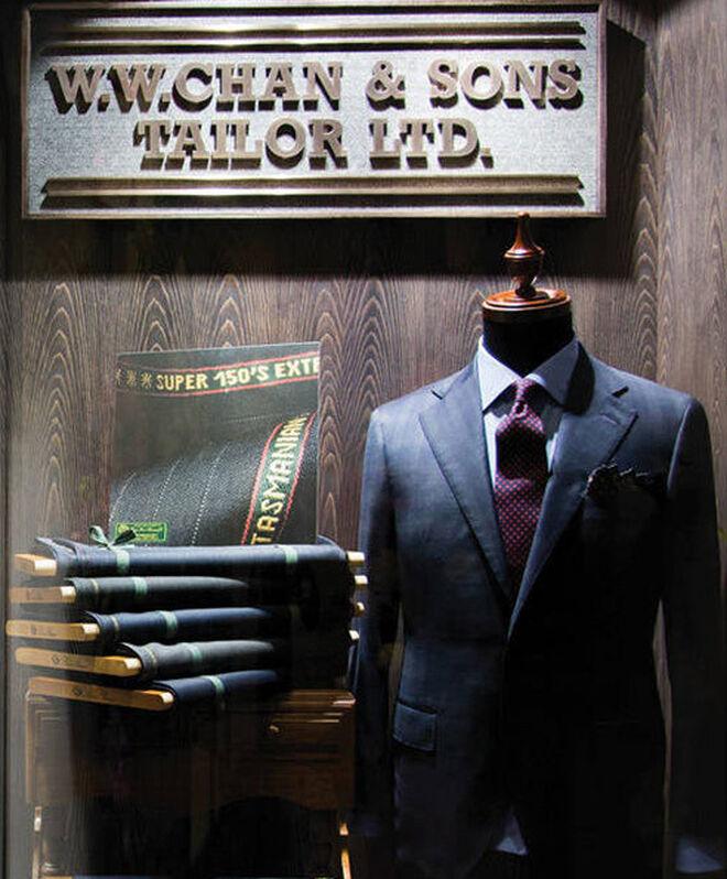 Los trajes a medida confeccionados por Patrick Chu son fácilmente adaptables a cualquier estilo y ocasión.