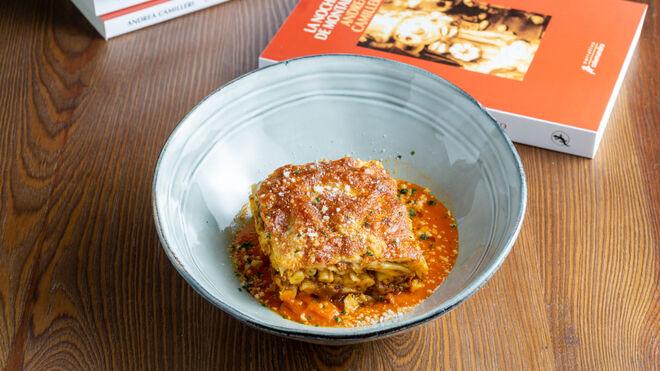La deliciosa pasta 'Ncasciata que Adelina le prepara al comisario Montalbano.