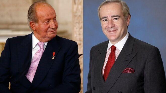 Juan Carlos I y Allen Sanginés-Krause.