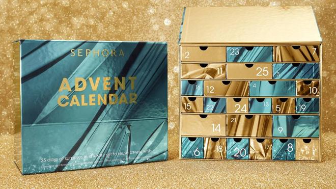 Calendario de adviento de 25 días. PVP: 119.99€