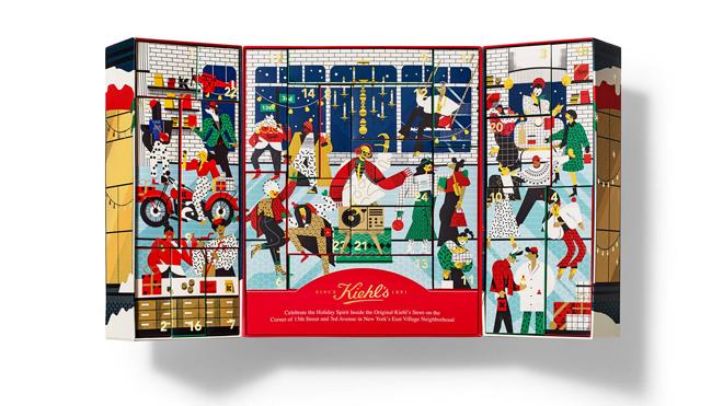 Calendario de adviento de diseño. PVP: 89€