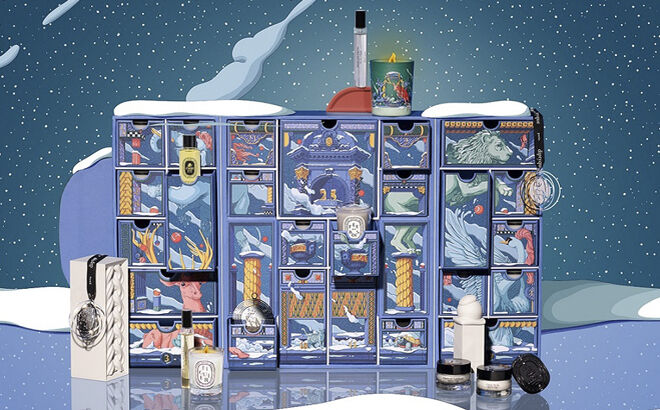 Calendario de adviento de perfumería. PVP: 350€