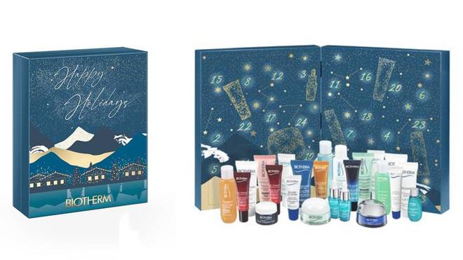 Calendario de adviento con productos cosméticos. PVP: 54.99€