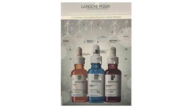 Calendario de adviento con productos cosméticos. PVP: 49.95€