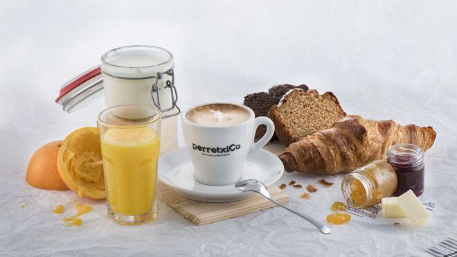 Desayuno con café arábico de primera calidad