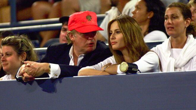 Donald Trump y Melania en 1999