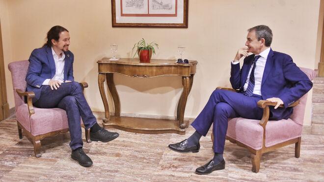 Iglesias y Zapatero aprovechan el viaje con el Rey a Bolivia para estrechar lazos con la izquierda bolivariana