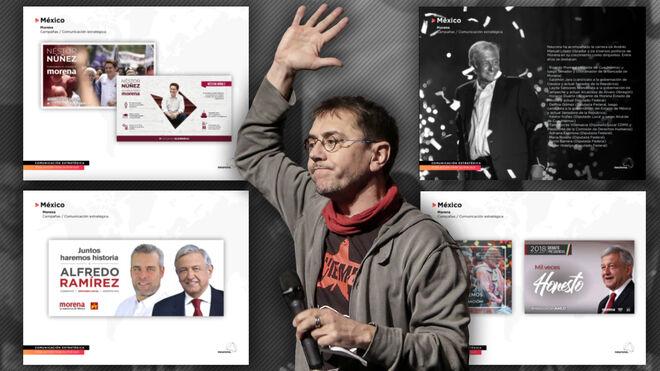 Juan Carlos Monedero y los trabajos de Neurona para Obrador