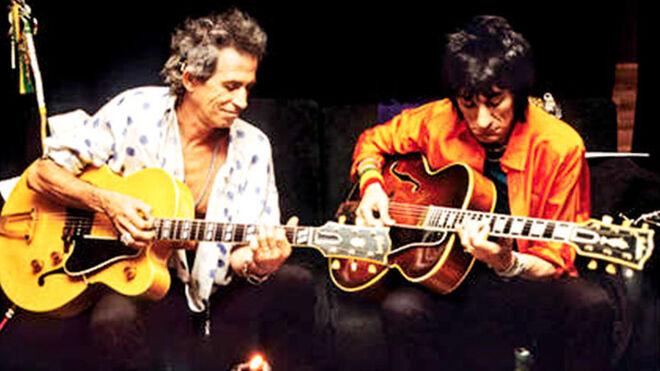 Ron Wood y Keith Richards, de The Rolling Stones.