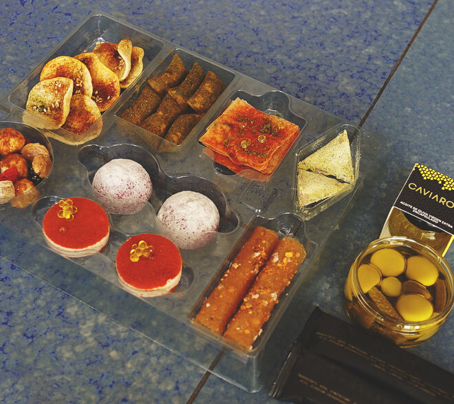 Exclusiva selección de 'snacks' conforman el regalo perfecto para estas fiestas.