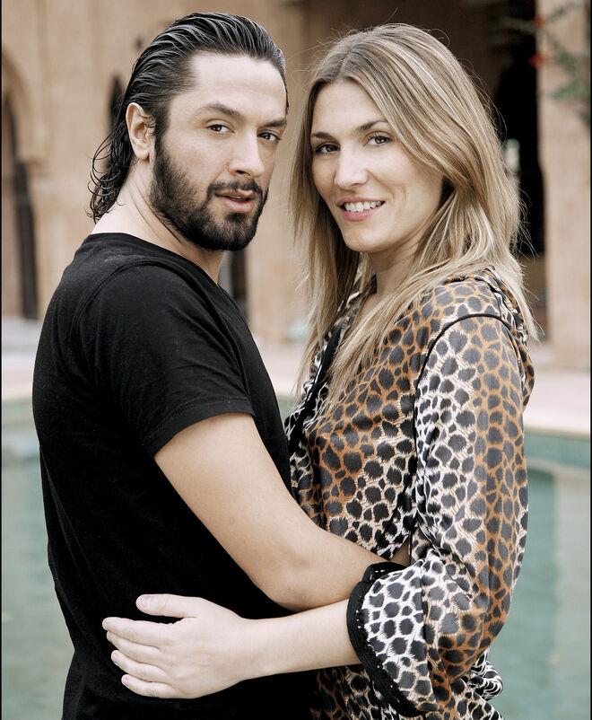 Rafael Amargo y su primera mujer Yolanda Jiménez.