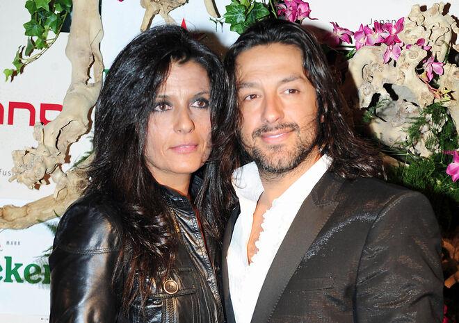 Rafael Amargo y su segunda mujer, Silvia Calvet.