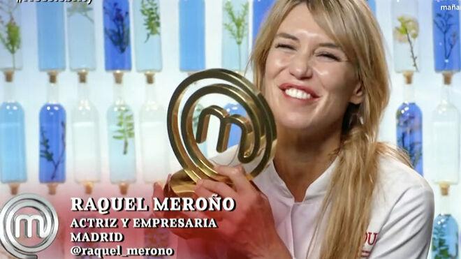 Raquel Meroño, ganadora de Masterchef Celebrity 5