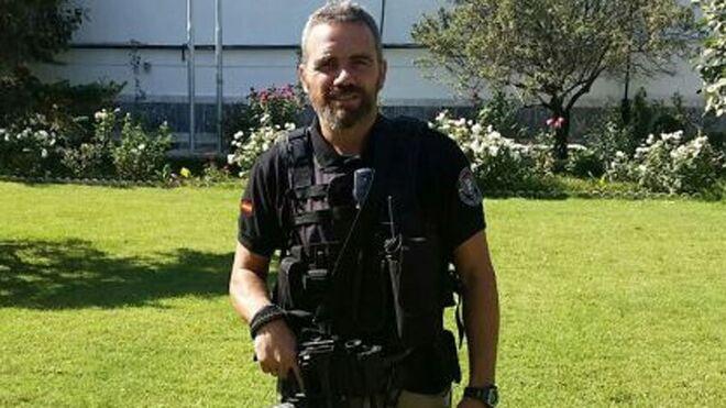 El policía Jorge García Tudela