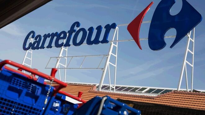 Una tienda Carrefour