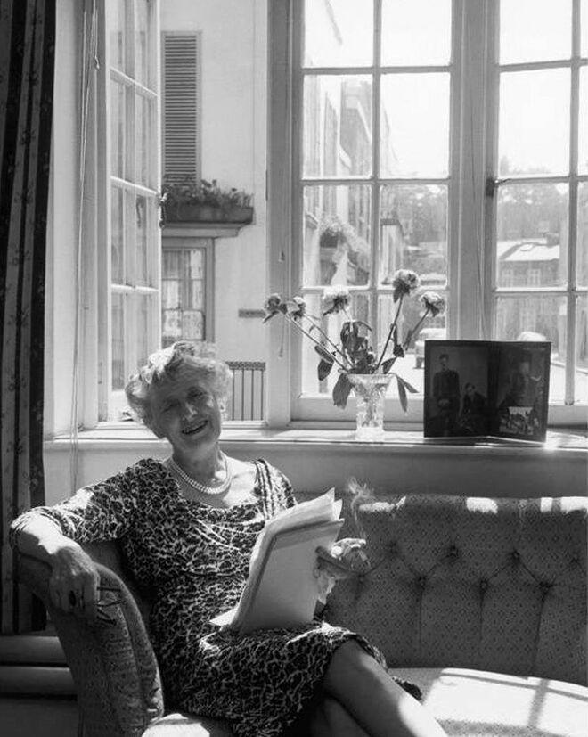 La escritora Ngaio Marsh. Foto: Getty Images.