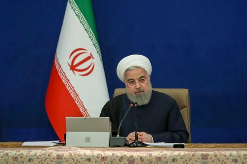El presidente iraní Hassan Rouhani.