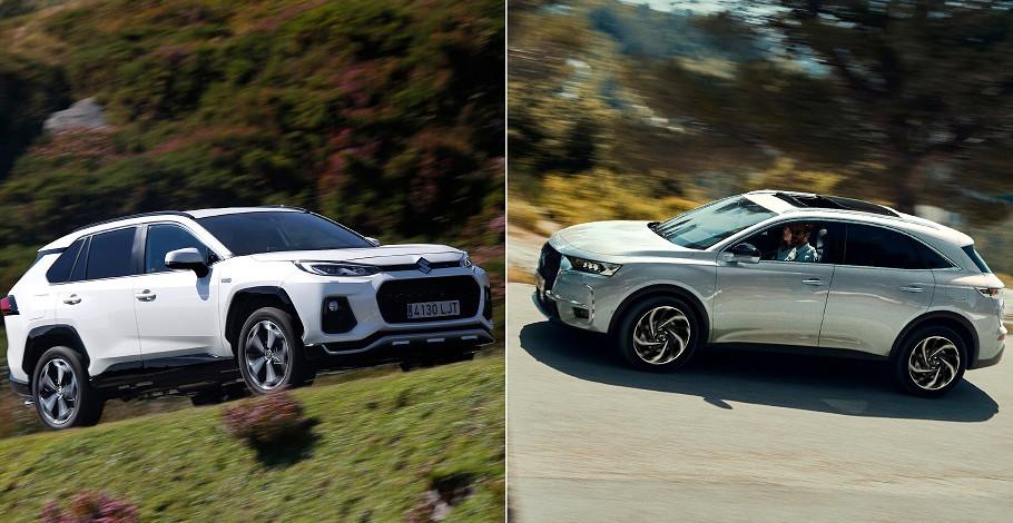 DS7 Crossback y Suzuki Across, híbridos enchufables con aires 'premium'