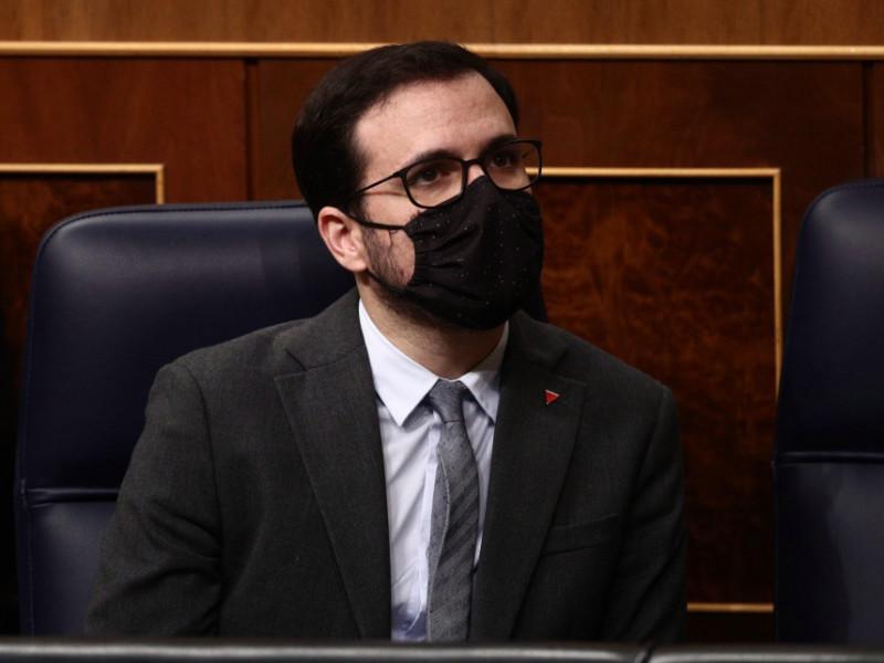 Ciudadanos pide el cese del ministro Garzón por sus declaraciones sobre mascarillas FFP2