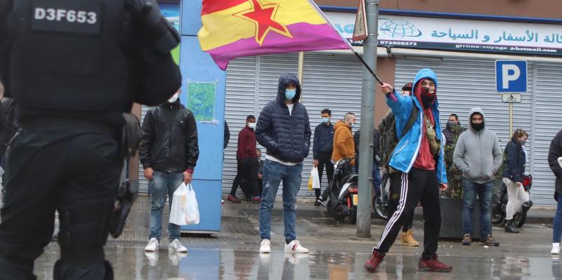 TVE minimiza la cobertura de los disturbios de la campaña catalana